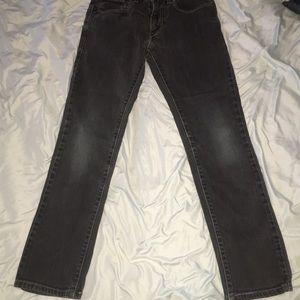 LEVIS 510 Jeans Dark Wash Boys 28 x 28 Size 16 reg